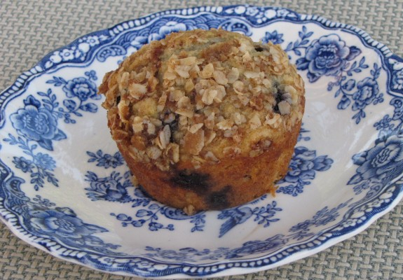 blueberry coffee cake muffins | Amy's Gluten Free Pantry