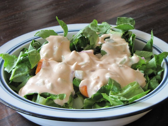 recipe: what salad goes with thousand island dressing [32]